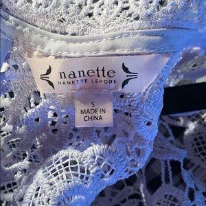 Nanette Lepore Tops - Nanette Lepore Zipper-up Tank